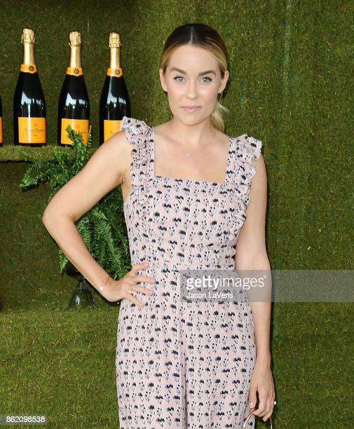 Lauren Conrad attends the 8th annual Veuve Clicquot Polo Classic at Will Rogers State Historic Park on October 14 2017 in Pacific Palisades California