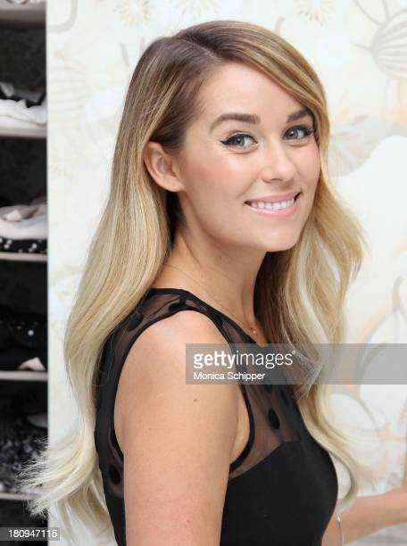 Lauren Conrad attends the Downy #ClosetLoveAffair Pinterest Sweepstakes Kick Off at Gary's Loft on September 18 2013 in New York City