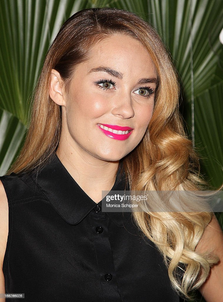 <a gi-track='captionPersonalityLinkClicked' href=/galleries/search?phrase=Lauren+Conrad&family=editorial&specificpeople=537620 ng-click='$event.stopPropagation()'>Lauren Conrad</a> attends the Malibu Island Spiced Launch Party at PH-D Rooftop Lounge at Dream Downtown on May 7, 2013 in New York City.
