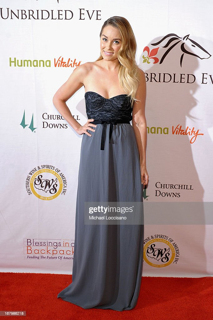<a gi-track='captionPersonalityLinkClicked' href=/galleries/search?phrase=Lauren+Conrad&family=editorial&specificpeople=537620 ng-click='$event.stopPropagation()'>Lauren Conrad</a> attends the Unbridled Eve Gala for the 139th Kentucky Derby at The Galt House Hotel & Suites' Grand Ballroom on May 3, 2013 in Louisville, Kentucky.