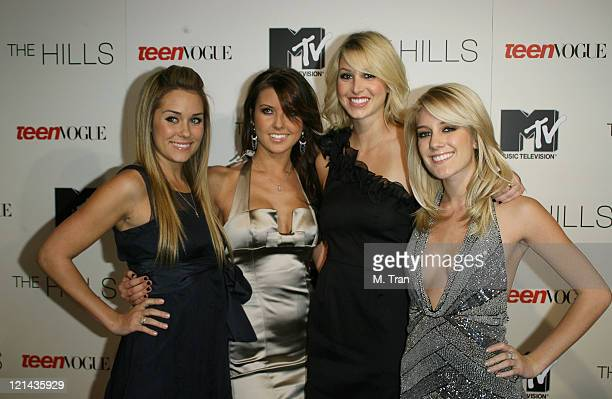 Lauren Conrad Audrina Patridge Whitney Port and Heidi Montag