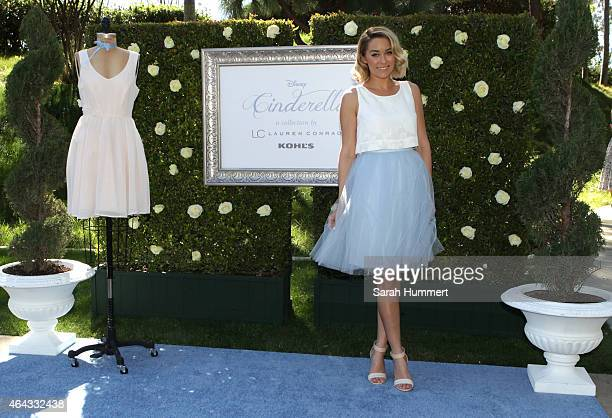 Lauren Conrad debuts her new Disney Cinderella Collection inspired by the classic animated film available exclusively at Kohl's on February 24 2015...