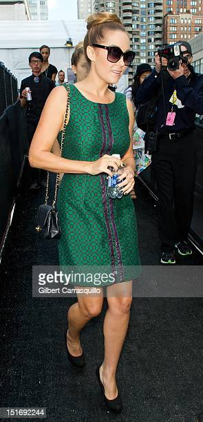 Lauren Conrad is seen around Lincoln Center during Spring 2013 MercedesBenz Fashion Week on September 9 2012 in New York City
