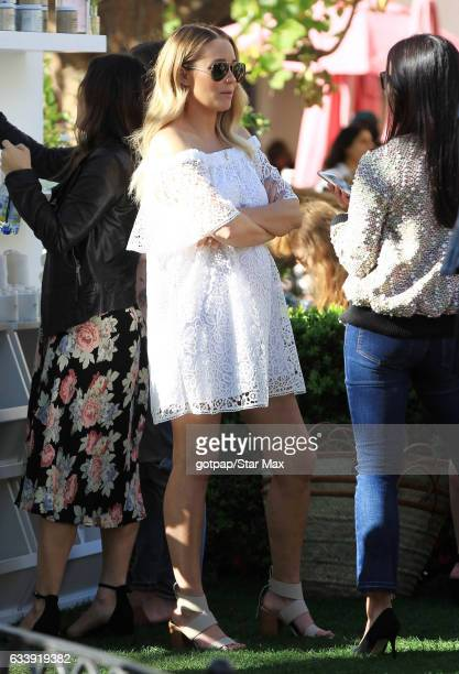 Lauren Conrad is seen on February 4 2017 in Los Angeles CA