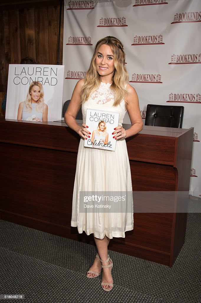 Lauren Conrad Signs Copies Of Her New Book 'Lauren Conrad Celebrate' at Bookends Bookstore on March 29 2016 in Ridgewood New Jersey