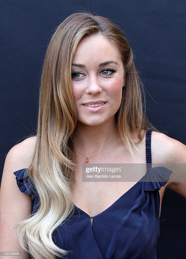 Lauren Conrad unveils a new national Milk Mustache 'Got Milk?' campaign at The Whisper Lounge on June 15, 2010 in Los Angeles, California.
