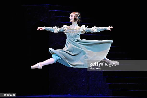 Lauren Cuthbertson of the Royal Ballet performs Romeo and Juliet at O2 Arena on June 16 2011 in London England