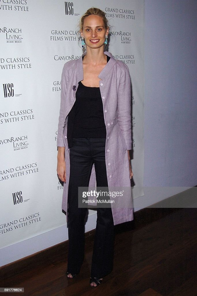 Lauren Davis attends Grand Classics Films With Style hosted by Carolina Herrera and sponsored by WSG/Canyon Ranch Living and Harry Winston at Soho...