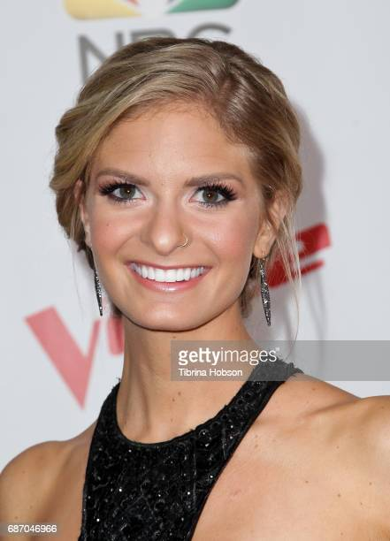 Lauren Duski attends 'The Voice' Season 12 artists red carpet at Universal Studios Hollywood on May 22 2017 in Universal City California