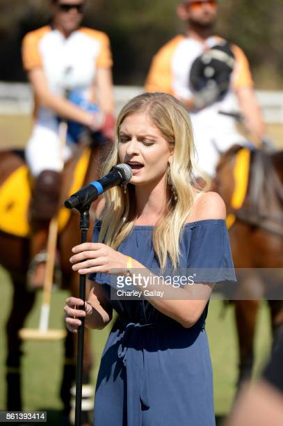 Lauren Duski performs at the Eighth Annual Veuve Clicquot Polo Classic on October 14 2017 in Los Angeles California