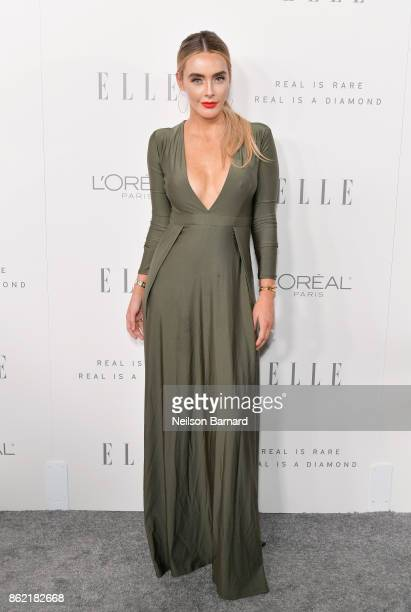 Lauren Everts attends ELLE's 24th Annual Women in Hollywood Celebration presented by L'Oreal Paris Real Is Rare Real Is A Diamond and CALVIN KLEIN at...