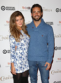 Lauren FrazerHutton and Spencer Matthews attend an exclusive preview screening of Disney's Cinderella hosted by Digital Cinema Media as part of...