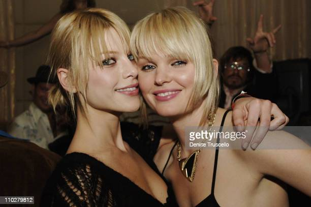 Lauren German and Sunny Manbrey during Standing Still Release Party Hosted by Grey Goose Vodka Vanity Fair and Insomnia Entertainment at Jet...