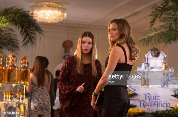 Lauren German and Tricia Helfer in the Sympathy for the Goddess episode of LUCIFER airing Monday May 22 on FOX