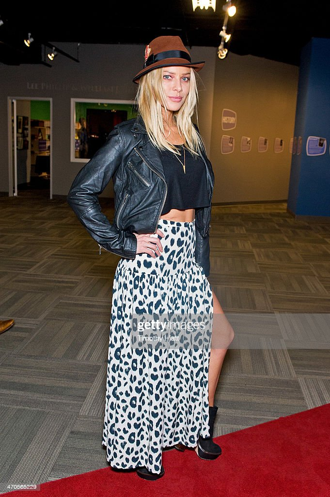 <a gi-track='captionPersonalityLinkClicked' href=/galleries/search?phrase=Lauren+German&family=editorial&specificpeople=693304 ng-click='$event.stopPropagation()'>Lauren German</a> appears in advance of a panel discussion at the Museum of Broadcast Communications in Chicago, IL on February 19, 2014