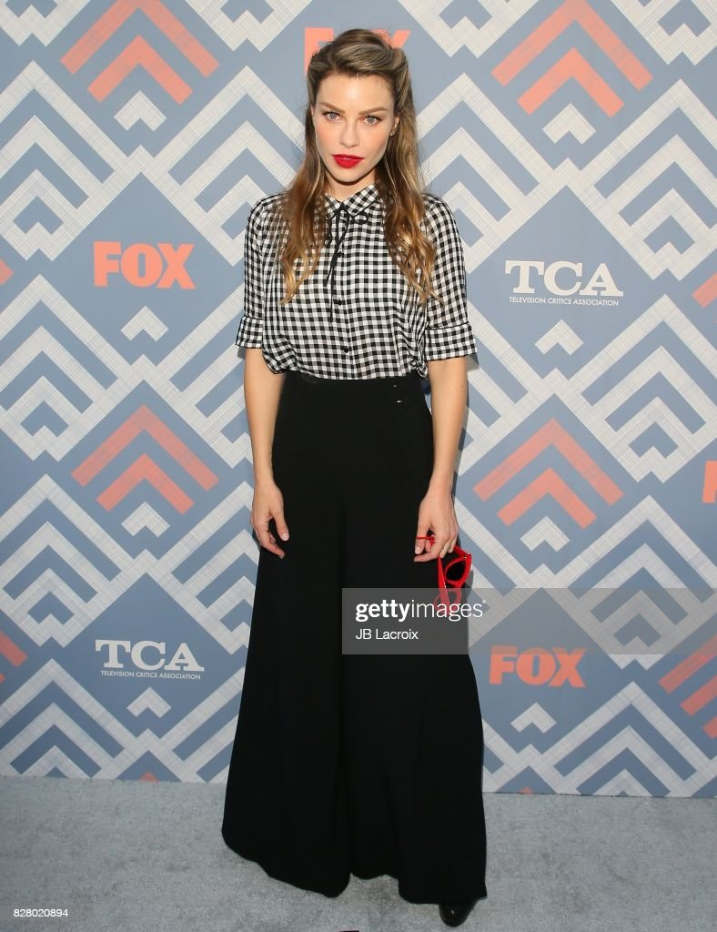 Lauren German attends the 2017 Summer TCA Tour 'Fox' on August 08, 2017 in Los Angeles, California.