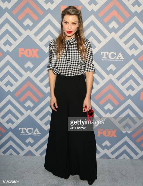 Lauren German attends the 2017 Summer TCA Tour 'Fox' on August 08 2017 in Los Angeles California