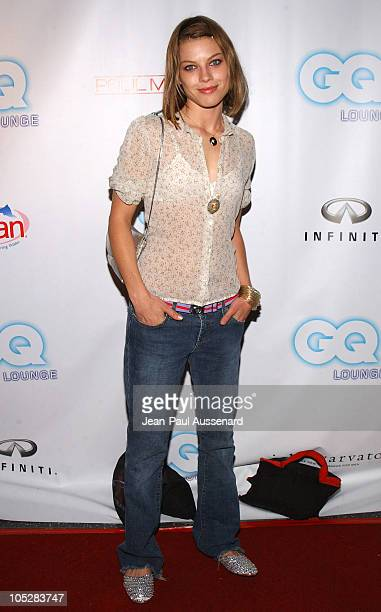 Lauren German during GQ Lounge Los Angeles Celebrates The Art of Elysium Arrivals at Forbidden City in Hollywood California United States