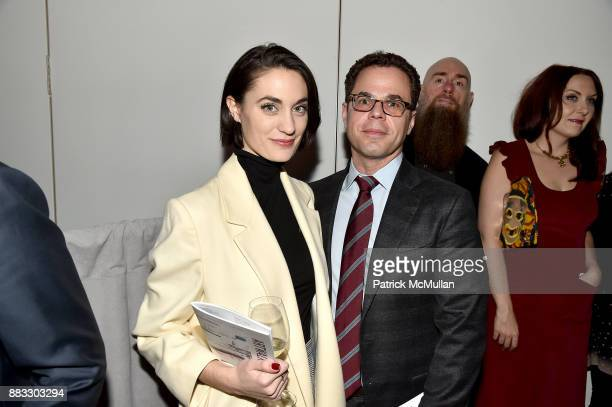 Lauren Gilford and Seth Blau attend the 2017 ARTWALK NY Benefiting Coalition for the Homeless at Spring Studios on November 29 2017 in New York City