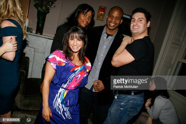 Lauren Goldberg Kindra Hanson Ngo and Rob Shuter attend STYLECASTER COTY and CARMINDY host a launch party for 'CRAZY BUSY BEAUTIFUL' at Norwood on...