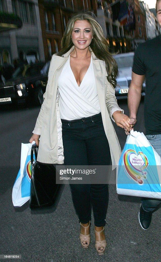 Lauren Gooder sighting on March 28, 2013 in London, England.