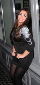 Lauren Goodger arriving at Anaya Club on February 2 2012 in London England