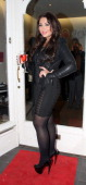 Lauren Goodger at the Lauren's Way shop launch party on February 22 2012 in London England