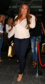 Lauren Goodger attending the Rock Your Jeans party at the Jewel Bar on September 3 2013 in London England
