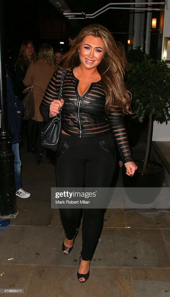 <a gi-track='captionPersonalityLinkClicked' href=/galleries/search?phrase=Lauren+Goodger&family=editorial&specificpeople=7360081 ng-click='$event.stopPropagation()'>Lauren Goodger</a> attending the Total Minx Launch Party on February 25, 2014 in London, England.