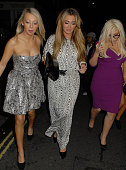 Lauren Goodger attends Ok Magazine Christmas Party held at Floridita REstaurant on November 29 2011 in London England