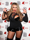 Lauren Goodger attends the KISS FM Haunted House Party at Eventim Apollo Hammersmith on October 31 2014 in London England