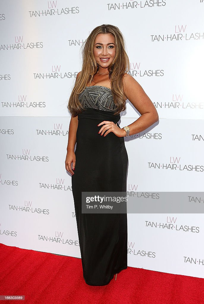 <a gi-track='captionPersonalityLinkClicked' href=/galleries/search?phrase=Lauren+Goodger&family=editorial&specificpeople=7360081 ng-click='$event.stopPropagation()'>Lauren Goodger</a> attends the launch of 'Lauren's Way', a collection by <a gi-track='captionPersonalityLinkClicked' href=/galleries/search?phrase=Lauren+Goodger&family=editorial&specificpeople=7360081 ng-click='$event.stopPropagation()'>Lauren Goodger</a> at Jewel Bar on May 8, 2013 in London, England.