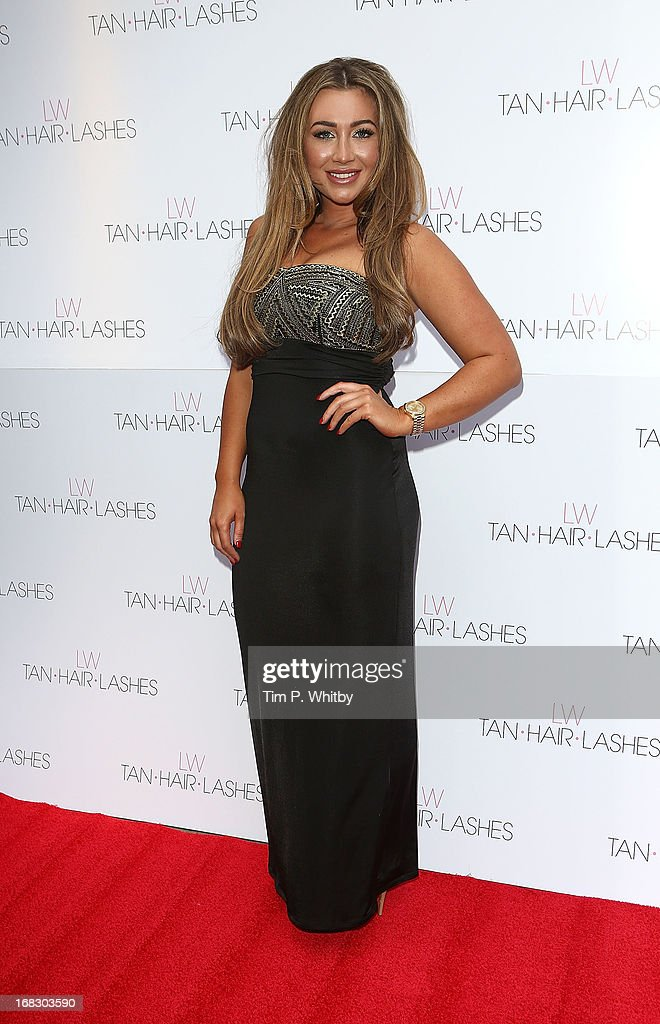 Lauren Goodger attends the launch of 'Lauren's Way', a collection by Lauren Goodger at Jewel Bar on May 8, 2013 in London, England.