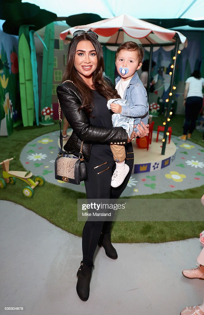 <a gi-track='captionPersonalityLinkClicked' href=/galleries/search?phrase=Lauren+Goodger&family=editorial&specificpeople=7360081 ng-click='$event.stopPropagation()'>Lauren Goodger</a> attends the launch of the new Sky Kids Cafe, an imaginative play and themed cafe pop-up to celebrate the new Sky Kids app at The Vinyl Factory on May 29, 2016 in London, England.