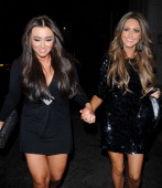 Lauren Goodger attends The Only Way Is Essex Wrap Party held at the Roof Gardens on February 29 2012 in London England