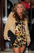 Lauren Goodger attends the opening of the showroom ofEmmy Collins London on November 24 2010 in London England