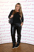 Lauren Goodger attends the Superdrug 50th Birthday celebration at One Marylebone on April 23 2014 in London England