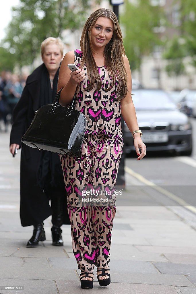 <a gi-track='captionPersonalityLinkClicked' href=/galleries/search?phrase=Lauren+Goodger&family=editorial&specificpeople=7360081 ng-click='$event.stopPropagation()'>Lauren Goodger</a> is pictured visiting Dr Simon Darfoor at 1 Harley Street, to have a 'his and hers smile make over' on May 10, 2013 in London, England.
