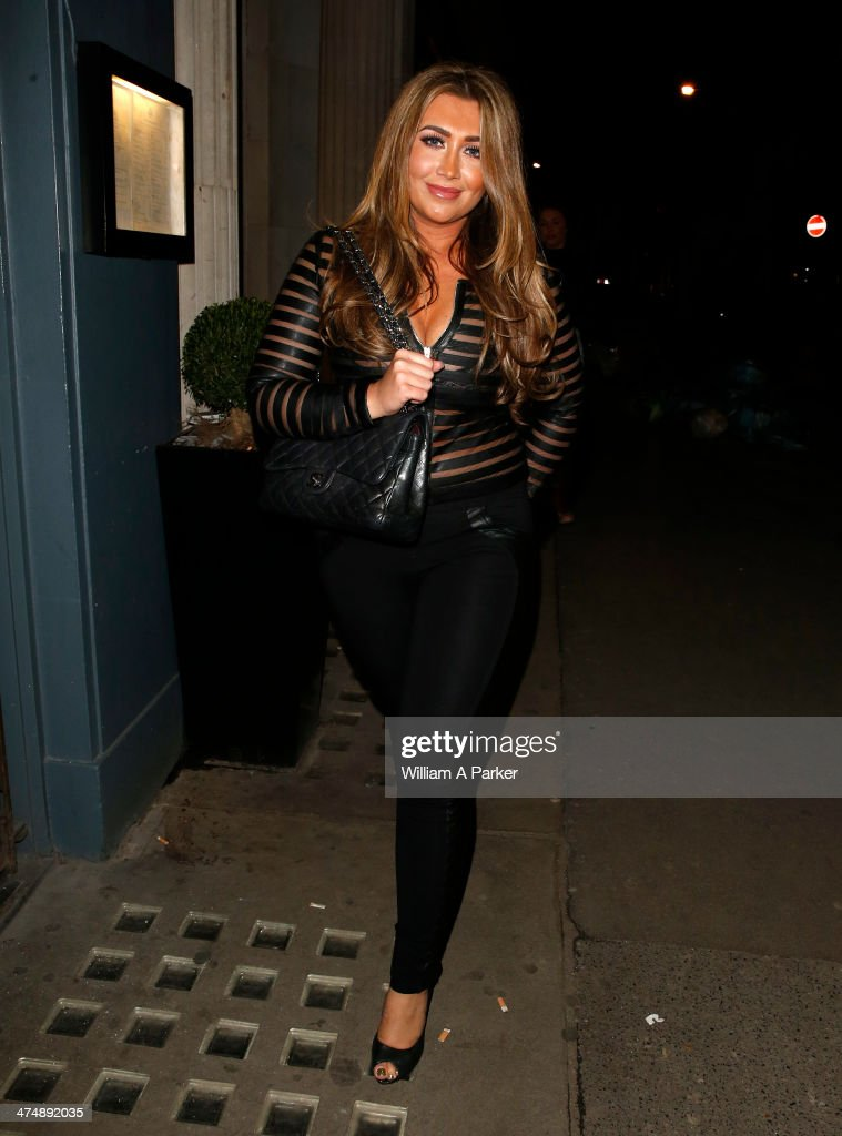 <a gi-track='captionPersonalityLinkClicked' href=/galleries/search?phrase=Lauren+Goodger&family=editorial&specificpeople=7360081 ng-click='$event.stopPropagation()'>Lauren Goodger</a> is seen leaving Mahiki Nightclub on February 25, 2014 in London, England.