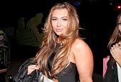 Lauren Goodger is sighted leaving the Minestry of Sound Elephant and Castle on October 21 2013 in London England