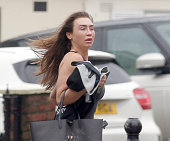 Lauren Goodger pictured at a local beauty salon on November 9 2015 in Loughton Essex