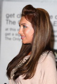 Lauren Goodger promotes The Only Way is Essex DVD release at Lakeside Shopping Centre on March 28 2011 in Thurrock England