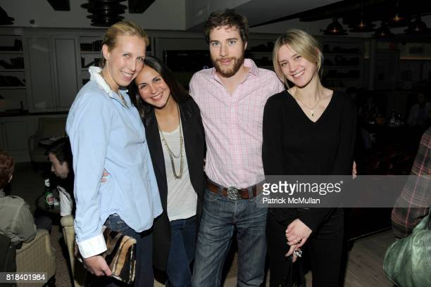 Lauren Goodman Sabine Heller Hud Morgan and Frances TulkHart attend SOHO HOUSE Super Bowl Party to Kick Off Fashion Week at Soho House on February 7...