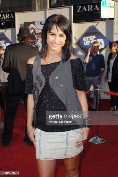 Lauren Gottlieb attends World Premiere of STEP UP 3D at El Capitan Theatre on August 2 2010 in Hollywood CA