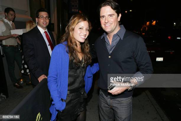 Lauren Gould and Tommy Tardie attend Grand Opening of La Pomme at 37 W 26th St on September 17 2009 in New York City