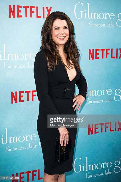 Lauren Graham attends the 'Gilmore Girls' fan event at Admiralspalast on November 10 2016 in Berlin Germany
