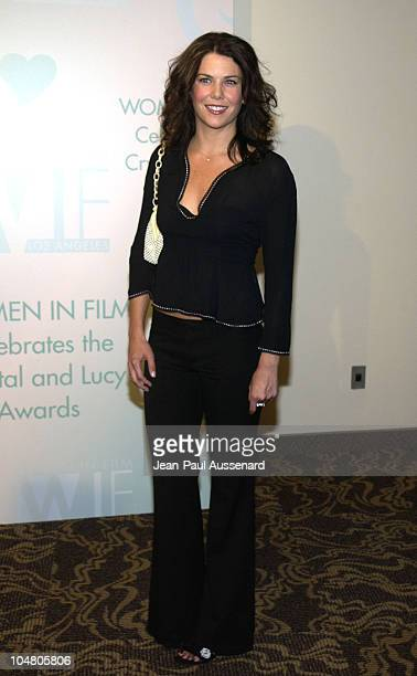 Lauren Graham during 2002 Women In Film Crystal Lucy Awards at Century Plaza Hotel in Century City California United States