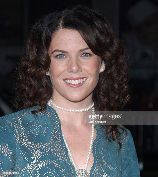 Lauren Graham during 'Friday Night Lights' World Premiere at Grauman's Chinese Theatre in Hollywood California United States