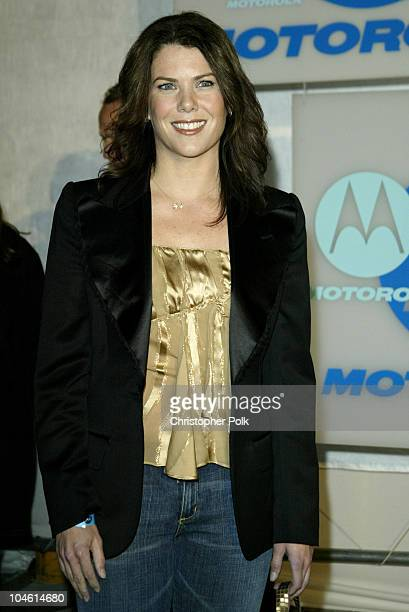 Lauren Graham during Motorola Hosts Fourth Annual Holiday Party Arrivals at The Lot in Hollywood CA United States