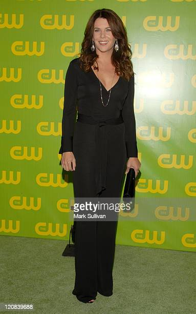 Lauren Graham during The CW Launch Party Arrivals at WB Main Lot in Burbank California United States